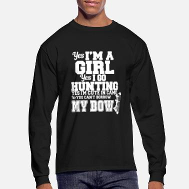Hunting Bow Hunting Girl - Men's Long Sleeve T-Shirt