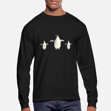 Group adeliepinguin group - Men's Long Sleeve T-Shirt