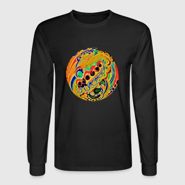 Psychedelic sphere - Men's Long Sleeve T-Shirt