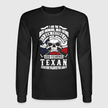 Texans Shirt - Men's Long Sleeve T-Shirt