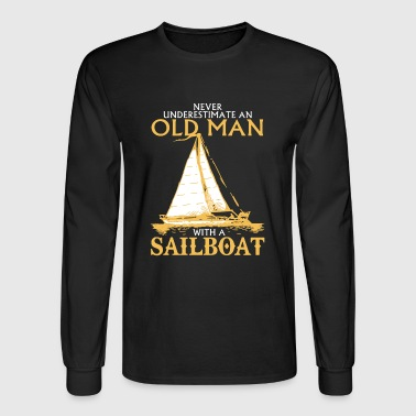 Sailboat Sailboat Shirt - Men's Long Sleeve T-Shirt