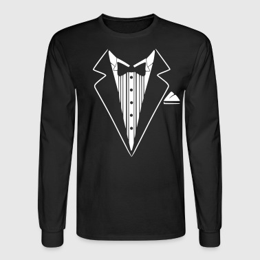 Tuxedo Jacket Costume  - Men's Long Sleeve T-Shirt