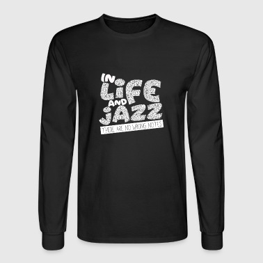 Avantgarde Jazz - Trumpet - Saxophone - Music - I love Jazz - Men's Long Sleeve T-Shirt