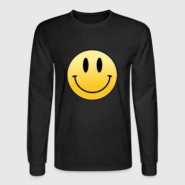 Mr Smiley - Men's Long Sleeve T-Shirt