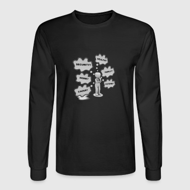 What am I to do? - Men's Long Sleeve T-Shirt