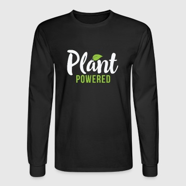 Vegan plant powered - Men's Long Sleeve T-Shirt