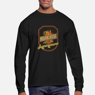 Broadcast Broadcaster - Men's Long Sleeve T-Shirt