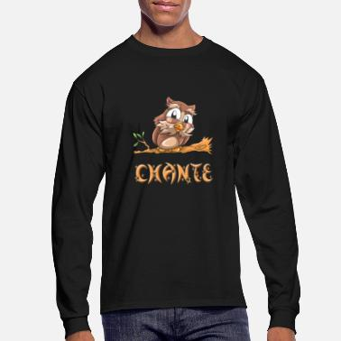 Chant Chante Owl - Men's Long Sleeve T-Shirt
