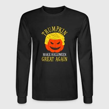 Trumpkin: Make Halloween Great Again! - Men's Long Sleeve T-Shirt