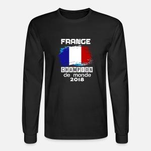France Champion Du Monde 2018 Men S T Shirt Black