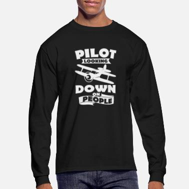 Recreational recreational pilot - Men's Long Sleeve T-Shirt
