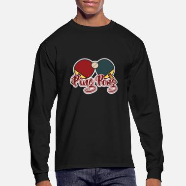 Ping Pong Ball Ping-pong - Men's Long Sleeve T-Shirt
