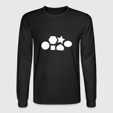 Shapes - Men's Long Sleeve T-Shirt