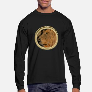 A champion is someone who gets up when he can't - Men's Long Sleeve T-Shirt