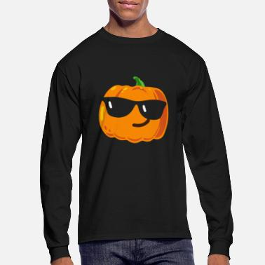 Emoji Halloween Pumpkin Emojis - Men's Long Sleeve T-Shirt