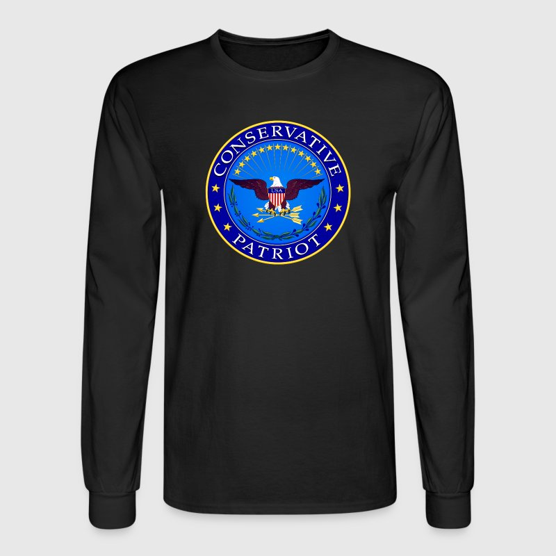 Conservative Patriot - Men's Long Sleeve T-Shirt