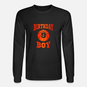 Kids 9th Birthday Shirt Boy Basketball T For 9 Year Olds By