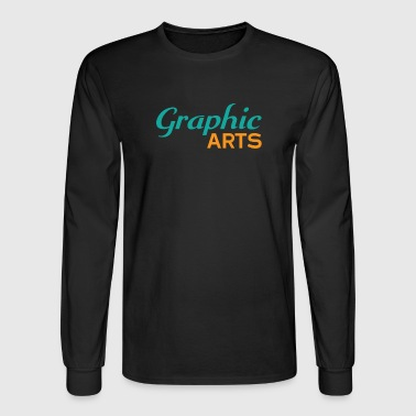 Graphic Art Graphic Arts - Men's Long Sleeve T-Shirt
