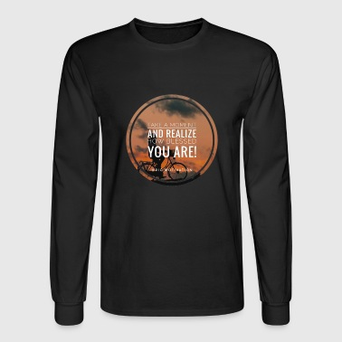 blessed you - Men's Long Sleeve T-Shirt