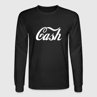 Cash - Men's Long Sleeve T-Shirt