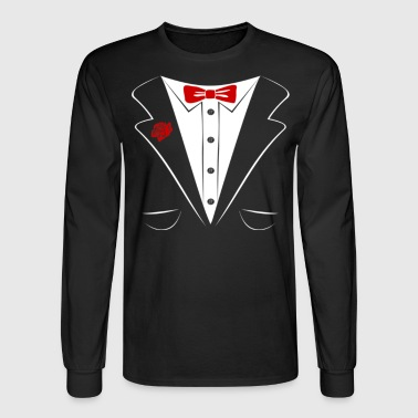 Tuxedo tuxedo - Men's Long Sleeve T-Shirt