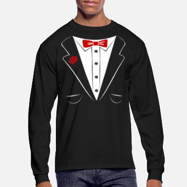 tuxedo - Men's Long Sleeve T-Shirt