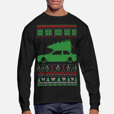 Christmas Ugly Sweater - Men's Long Sleeve T-Shirt