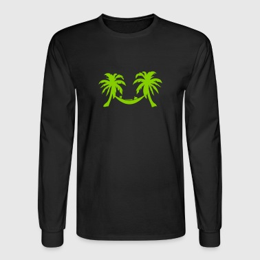 palm hammock cool character 8 - Men's Long Sleeve T-Shirt