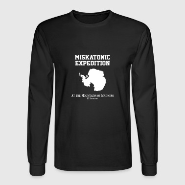 Miskatonic Expedition - Men's Long Sleeve T-Shirt