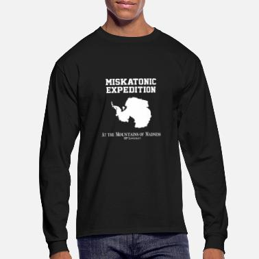 Expedition Miskatonic Expedition - Men's Long Sleeve T-Shirt