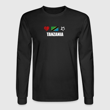 Tanzania Football Shirt - Tanzania Soccer Jersey - Men's Long Sleeve T-Shirt