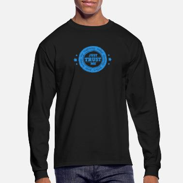 Circular Circular Reasoning - Men's Long Sleeve T-Shirt