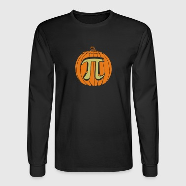 Pumpkin Pi - Men's Long Sleeve T-Shirt