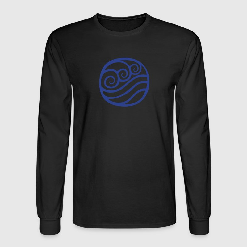 Water Tribe Symbol - VECTOR - Men's Long Sleeve T-Shirt