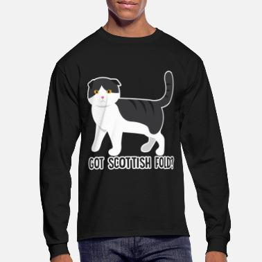 Fold Scottish Fold Shirt - Men's Long Sleeve T-Shirt