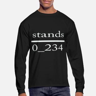 Stand stands - Men's Long Sleeve T-Shirt