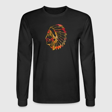 NATIVE AMERICAN INDIAN - Men's Long Sleeve T-Shirt