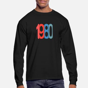 1980 1980 - Men's Long Sleeve T-Shirt