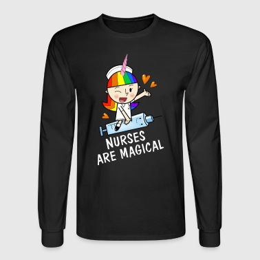 Unicorn Nurses are Magical Gift - Men's Long Sleeve T-Shirt