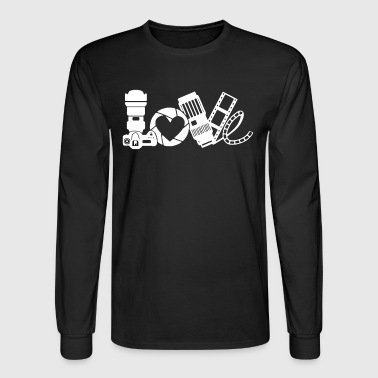 Photography Love Shirt - Men's Long Sleeve T-Shirt