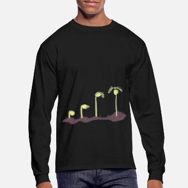 Phytology Botany - Growing Plant - Environmental Science - Men's Longsleeve Shirt