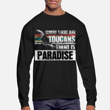 Bird Toucan Vacation gift idea - Men's Longsleeve Shirt