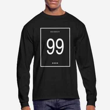 Nineties Member 99 - Men's Longsleeve Shirt