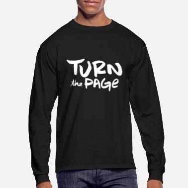 Page turn the page - Men's Longsleeve Shirt