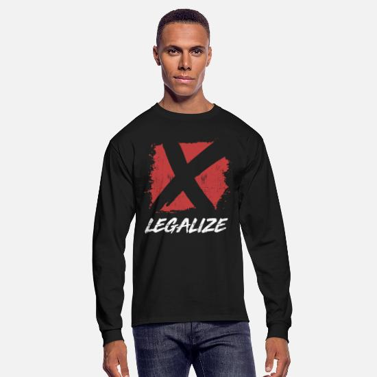 Ecstasy Long-Sleeve Shirts - Legalize Ecstasy - Men's Longsleeve Shirt black