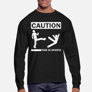 Greece Caution - Men's Longsleeve Shirt