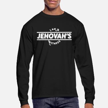Jehovah Jehovah's I'm Believer White Cool Gift - Men's Longsleeve Shirt