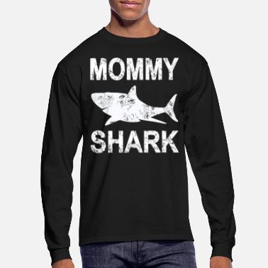 Mummy Mommy to be Shark - Men's Longsleeve Shirt