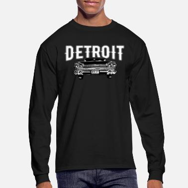 Muscle Detroit Motor City Classic American Muscle Car - Men's Longsleeve Shirt