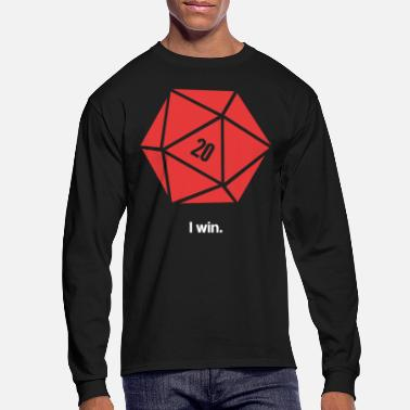 Win I Win D20 - Men's Longsleeve Shirt